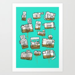 My Lover Art Print