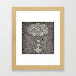 Henna Inspired 6 Framed Art Print
