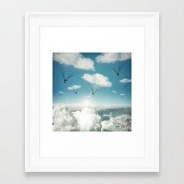 The Rain Bringers Framed Art Print