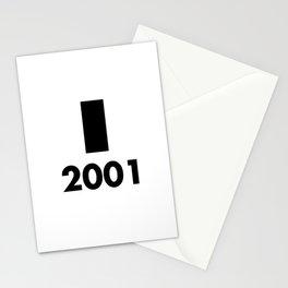 2001: A Minimalist Space Odyssey Stationery Cards