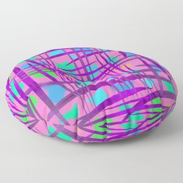 Abstract 90 PF Floor Pillow