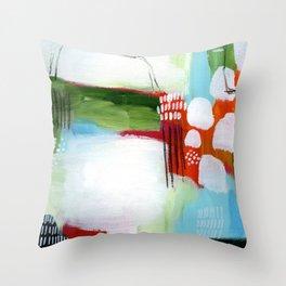Brighter Days Throw Pillow