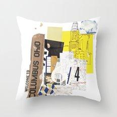 Columbus Throw Pillow