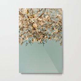 Falling Into Spring Metal Print