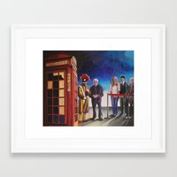 death cab for cutie Framed Art Prints featuring Death cab authorized by GaeTano & Valentina