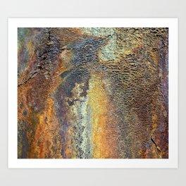 Oxidized Pattern Art Print