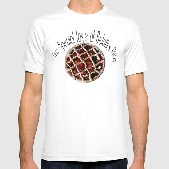 The special taste of Belotti's pie T-shirt