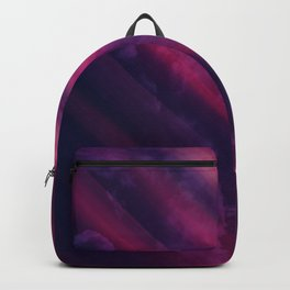 Vibrant Colorful Rays between Clouds 10 Backpack