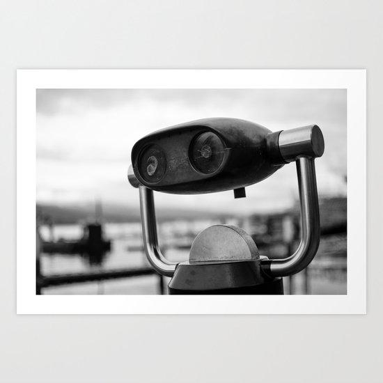 i spy Art Print