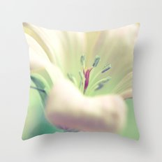 Pale Rapture Throw Pillow