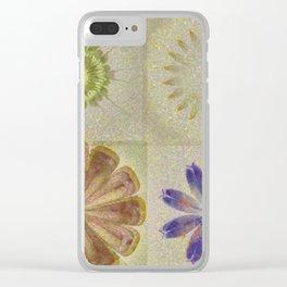 Jean'S Consonance Flowers  ID:16165-071253-84670 Clear iPhone Case