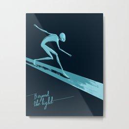 Beyond the light Metal Print