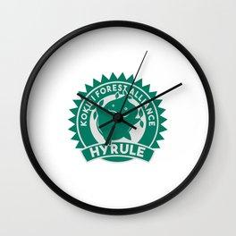 Kokiri Forest Alliance Wall Clock