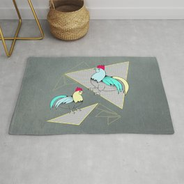 Coq français - French rooster Rug