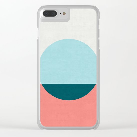 Abstract and minimalist pattern I Clear iPhone Case