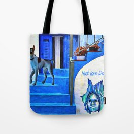Must Love Dogs - Painting - by Liane Wright  Tote Bag