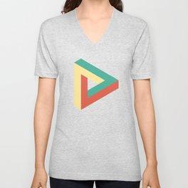 Triangle impossible Unisex V-Neck