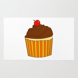 I Love Cupcakes Rug