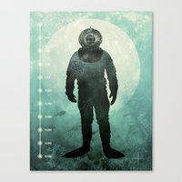 under the sea Canvas Prints featuring Under The Sea by Chase Kunz