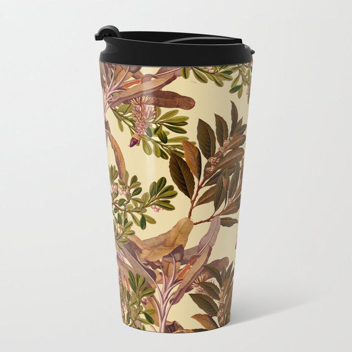 Autumn Leaves Metal Travel Mug