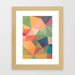 Geometric XIV Framed Art Print