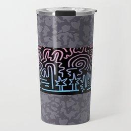Clean Stripe (Vice) Travel Mug