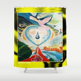 SEAT OF MERCY Shower Curtain