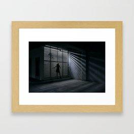 Lightbox Framed Art Print