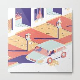 Paranoia 2 Metal Print