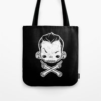 rebel Tote Bags featuring Rebel by saimen