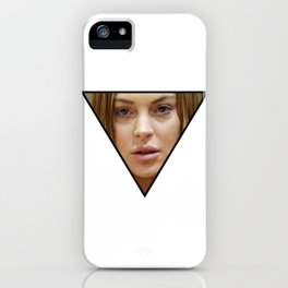 Illuminaughty Lindsay Lohan iPhone Case