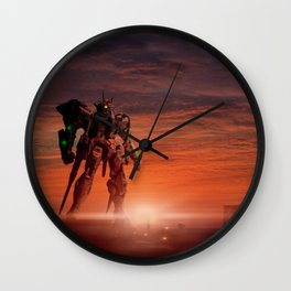Gundam mobile Wall Clock
