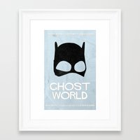 ghost world Framed Art Prints featuring Ghost World by Bill Pyle