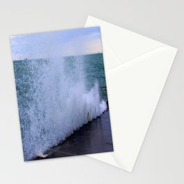 Lake Michigan Natural Fountains #1 (Chicago Waves Collection) Stationery Cards