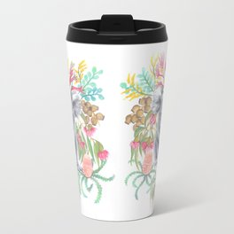 Home Among the Gum leaves Metal Travel Mug