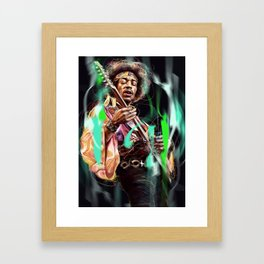 Jimi Framed Art Print