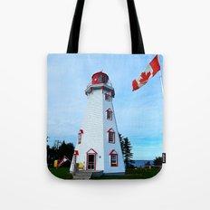 Lighthouse Panmure Island Tote Bag