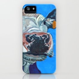 Leticia the Cow iPhone Case