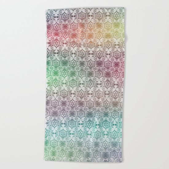 Ornamental Pattern 2 Beach Towel
