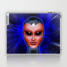 Blue Alien Mental Energy Laptop & iPad Skin