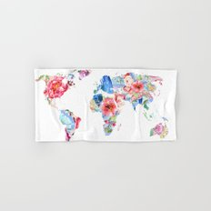 Optimistic World Hand & Bath Towel