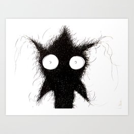 The creatures from the drain poster 7 Art Print