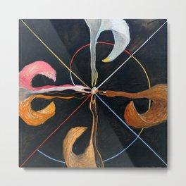"Hilma af Klint ""The Swan, No. 07, Group IX-SUW"" Metal Print"