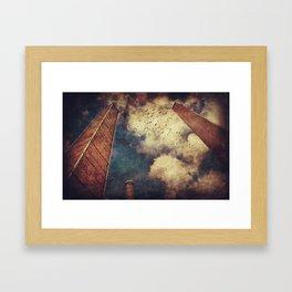 The Three Towers Framed Art Print