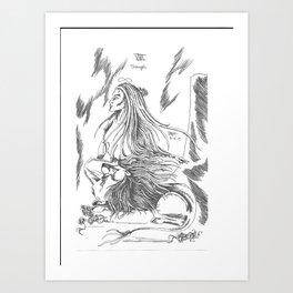 Strength of the Major Arcana Art Print