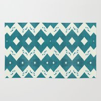 mustang Area & Throw Rugs featuring Mustang Sally by Bunhugger Design