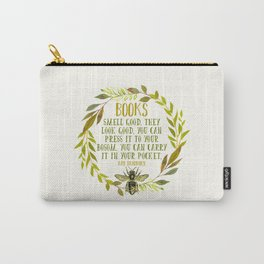 BEE About Books Carry-All Pouch
