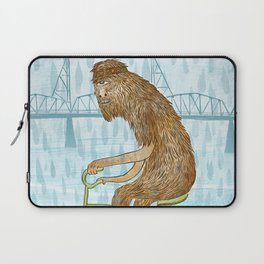 Dirty Wet Bigfoot Hipster Laptop Sleeve