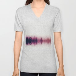 Sound waves -fall Unisex V-Neck