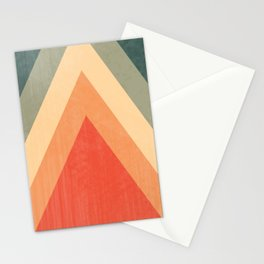 By The Fireside - Retro Arrows Stationery Cards